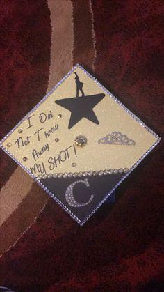 Graduation cap   InspiredByHamilton f22d8c0a8e1e