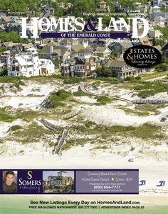View the latest issue online of Homes & Land of the Emerald Coast #homesandlandmagazine #realestate #homesforsale