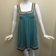Free People NWT light blue velvet tank dress New with tags Free People tank dress.   In perfect condition. Free People Dresses Mini