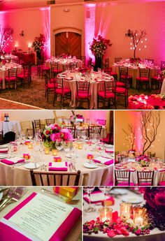 What a colourful wedding reception! At Fairmont Sonoma Mission Inn. Photographed by Vijay Rakhra