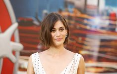 Pin for Later: Lizzy Caplan Couldn't Have Picked a Better Dress to Match Her New Engagement Ring