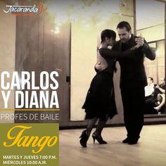 El Tango es un baile donde el equilibrio no está en cada uno, sino en el centro de los dos, y si no se entienden pueden desestabilizarse. Se debe de aprender a comunicarse para poder disfrutarlo juntos. Prográmate con Carlos y Diana para que aprendas a bailar Tango. #AmigosJacaranda #JacarandaCali #ClasesTangoCali