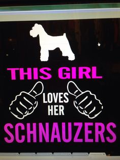 Schnauzer love Miller Mom Makes...
