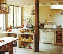 Inspiring picture arredamento, beams, casa, chandelier, decor, dishes. Resolution: 400x399 px. Find the picture to your taste!