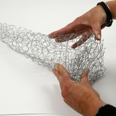 chicken wire can be used to make any form