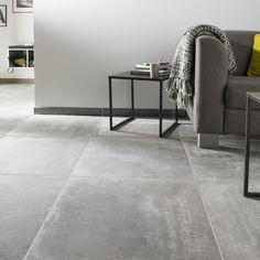 Carrelage Gris Effet Béton Lissé Parts Of A House Pinterest - Carrelage effet beton