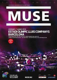 YEAH!!MUSE estarán el 7 de junio en Barcelona.  Las entradas se ponen a la venta este mismo viernes,     http://www.nvivo.es/blog/muse-estaran-el-7-de-junio-en-el-estadi-olimpic-de-barcelona/?utm_source=pinterest+_medium=link_campaign=blog