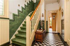 Bedroom Built In Wardrobe, Front Hallway, Vestibule, Art Deco Design, Art Pictures, Interior Inspiration, Art Nouveau, Interior Decorating, Stairs