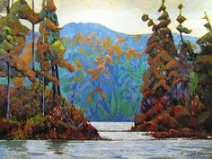 Garth Armstrong - Northern Channel 36 x 48 Acrylic on canvas Canadian Painters, Channel, Canvas, Painting, Art, Tela, Painting Art, Canvases, Paintings