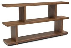 CONSIDER MADE OUT OF NATURAL WOODS FOR BEHIND THE SOFA...