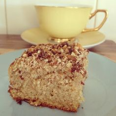 Cardamom and Cinnamon Coffee Cake Low Calorie Recipes, Diabetic Recipes, Cooking Recipes, Sweet Recipes, Cake Recipes, Gluten Free Coffee Cake, The Chai, Good Food, Yummy Food