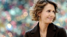 Asma al-Assad- how can she sleep at night?  How can she sleep ever again in the knowledge that her husband has allowed and facilitated the systematic murder of thousands of his own Syrian people.....