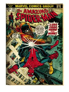 Amazing Spider-Man (Vol. 1) 123 (with Luke Cage)