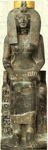 Great Royal Queen Aset Het-Heru, (Isis, Dame Iset) d'EGYPTE Epouse (ou une concubine) de Nesi (Pharaoh) Tehutimes II (Thutmôsis II)…