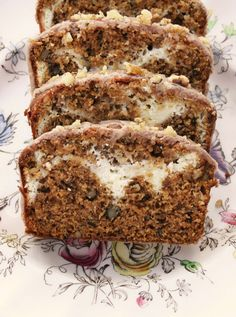Pumpkin Cream Cheese Bread. This incredible recipe stands out because it has cream cheese in it. A few little changes to the recipe were made, like adding a delicious cinnamon glaze. This bread is nice and moist, and the cream cheese filling adds a special touch! Serve this treat at your weekly morning coffee klatsch--your company will be impressed!
