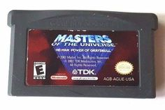 Gameboy Advance Game GBA SP DS DsL MASTERS OF THE UNIVERSE HE-MAN 13 Levels Fun #Disney