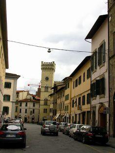 Via Cavour, Pistoia, Italy