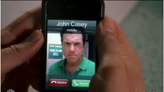 John Casey is not happy at having his photo taken lol I love this show and I love Casey's glare and growl all the time