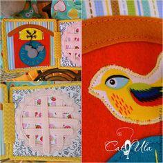 Купить КУХНЯ (мягкая книга) +фартучек+сумочка - разноцветный, кухня, паззлы, развивающая книга, мягкая книга