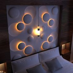 12 3D Wall Panels with LED Lighting For Evocative House Walls - Top Inspirations