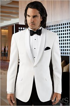 c4059120d7f7b0 2017 New Fashion White Groom Suit Wedding Tuxedos Formal Dress Groomsmen  Men Wedding Suits Bridegroom Mens Suit jacket+Pant