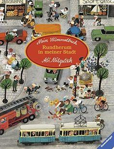 Mein Wimmelbuch: Rundherum in meiner Stadt von Ali Mitgutsch https://www.amazon.de/dp/3473434884/ref=cm_sw_r_pi_dp_x_VXr1yb1YECS6J