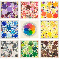 Colour spectrum inspiration