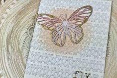 tim holtz stacked hexagon dies - Google Search Butterfly Cards, Tim Holtz, Google Search, Floral, Flowers, Royal Icing Flowers, Flower, Flower, Florals