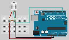 Iowa Aquaponics:  Temperature and relative humidity sensor for Aquaponics.