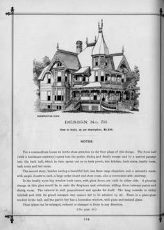 Victorian Cottage Architecture Floor Plans For Homes