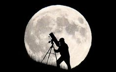 Blood Moon in pictures: Total 'supermoon' lunar eclipse seen around the world - Telegraph Brighton England, Brighton Inglaterra, Astronomy Science, Space And Astronomy, Luna Grande, Cosmos, Lunar Eclipse, Blood Moon, Super Moon