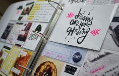 Project Life 2014 | week 1 | by amanda_r0se at @Studio_Calico
