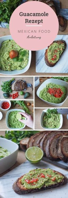 Guacamole Rezept – so machst du den perfekten Avocado Dip recipes salad smoothie toast farci noyau recette salade Authentic Mexican Recipes, Mexican Food Recipes, Vegan Recipes, Avocado Dessert, Avocado Dip, Avocado Toast, Avocado Guacamole, Avocado Butter, Avocado Salat