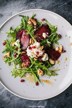 Beet Recipes, Clean Recipes, Salad Recipes, Vegetarian Recipes, Healthy Recipes, Healthy Cooking, Healthy Eating, Food Inspiration, Food To Make
