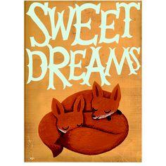 sweet dreams little foxes bu nicola slater