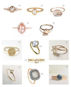25 Unique Engagement Rings   Green Wedding Shoes Wedding Blog   Wedding Trends for Stylish + Creative Brides