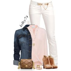 Denim jacket & ankle boots by kelley74 on Polyvore featuring 3.1 Phillip Lim, MANGO, Replay, L'Autre Chose, Tory Burch, Monsoon, Lane Bryant, Irene Neuwirth and ASOS