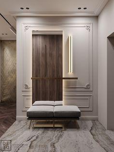 Enhance Your Senses With Luxury Home Decor Luxury Home Decor, Luxury Interior, Home Interior Design, Luxury Homes, Design Hall, Foyer Design, Design Room, Ceiling Design, Apartment Interior