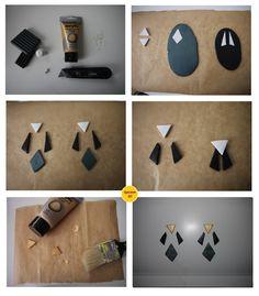 Geometrical Earrings. | Operation DIY