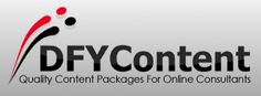 This year, I've launched a new service designed specifically for internet marketing and business consultants – website writing packages for them to offer their clients.