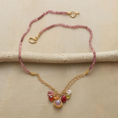 PRIMARILY PINKS NECKLACE Sundance $1100 - Love the design want to make something like it!