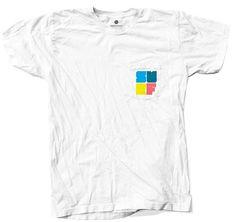Pastel Surf Pocket White T-Shirt