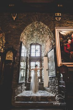 Eilean Donan Castle wedding in Scotland. Junnie and Zach Photo By Carey Nash Photography