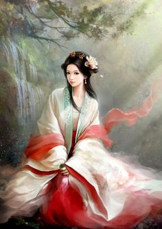 Bonito traje belleza foto ilustrador //// 好看的古装美女插画图片 - ✯ http://www.pinterest.com/PinFantasy/arte-~-la-mujer-en-el-arte-chino-women-in-chinese-/ RP by splashtablet.com, the cool iPad for showering with your tablet ;)