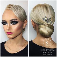 """1,242 Likes, 5 Comments - Sergievskaya Anastasia (@sergievskaya_stylist) on Instagram: """"@ariadna_tishova World Champion ✨✨✨ Hairstyle&Makeup by @sergievskaya_stylist #mua #muah…"""""""