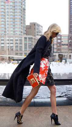 New York Fashion Week - Street style.