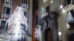 Particolare delle installazioni nel Centro storico