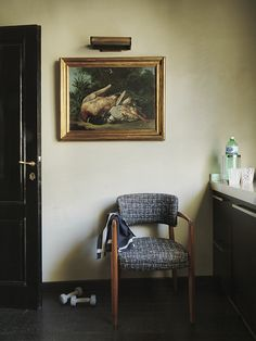 Franco and Alessandra Mariotti house in Florence, owners of Flair Florence. - Elle Decor UK, October 2012