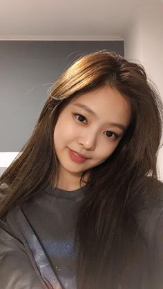 Jennie Blackpink, Selfies, Blackpink Photos, Aesthetic Hair, Blackpink Fashion, Kim Hongjoong, Without Makeup, Airport Style, My Baby Girl