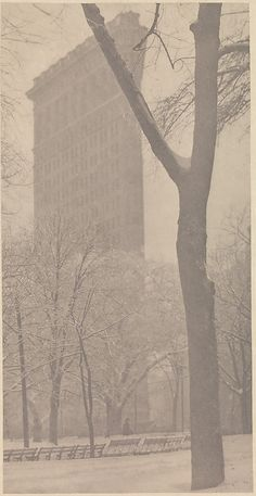 The Flatiron  Alfred Stieglitz (American, Hoboken, New Jersey 1864–1946 New York City)